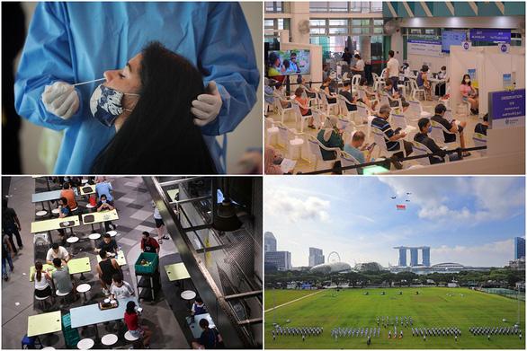 Singapore chung sống bình thường với COVID-19 - Ảnh 1.