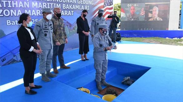 Indonesia và Mỹ khởi công trung tâm huấn luyện hàng hải - Ảnh 1.