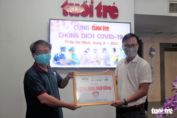 Công ty Giải pháp Kỹ thuật Việt ủng hộ 1 triệu yen Nhật để Cùng Tuổi Trẻ chống dịch COVID-19 - Ảnh 1.