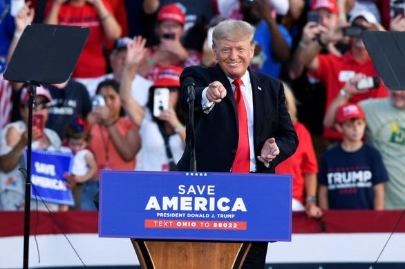 Ông Trump đi vận động trở lại, tuyên bố sẽ chiến thắng lần thứ ba - Ảnh 1.