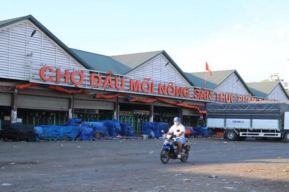 Bộ Nông nghiệp đề nghị mở lại chợ đầu mối Bình Điền, Thủ Đức, Hóc Môn - Ảnh 1.