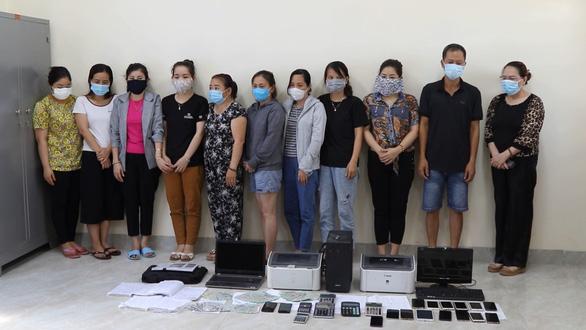 Triệt phá đường dây lô đề trên 36 tỉ đồng/tháng ở Quảng Bình - Ảnh 1.