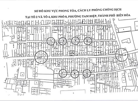 Đồng Nai thêm 4 ca nghi mắc COVID-19 liên quan chợ Hóc Môn, phong tỏa tạm thời 5 khu vực - Ảnh 2.