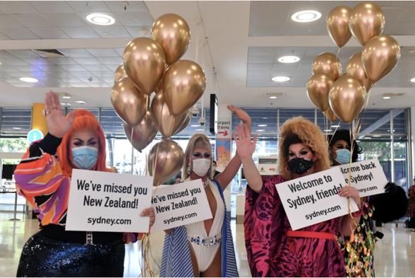 New Zealand ngừng miễn cách ly với du khách đến từ Úc do lo ngại biến thể Delta - Ảnh 1.
