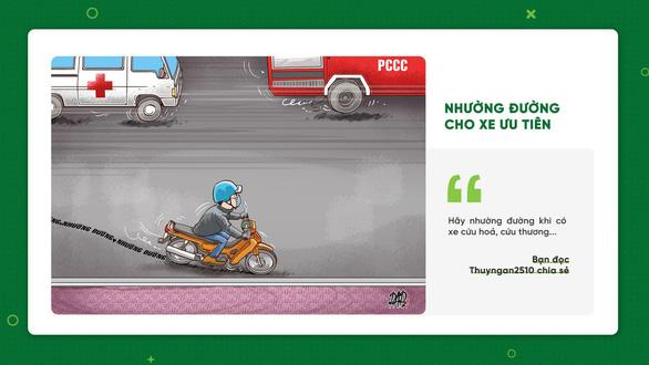 Muốn giao thông ngày một văn minh, đừng tiếc một share - Ảnh 1.