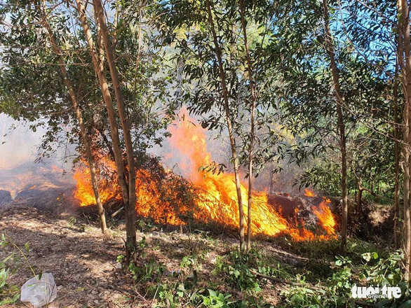 Cháy rừng cạnh doanh trại quân đội, Huế huy động gần 1.000 người chữa cháy - Ảnh 5.