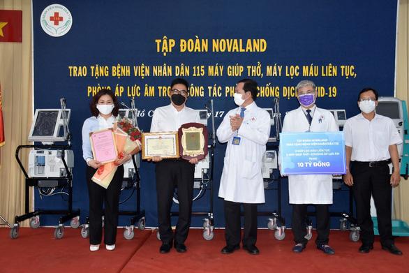 Novaland hỗ trợ Phú Yên tăng cường kiểm soát dịch bệnh - Ảnh 2.
