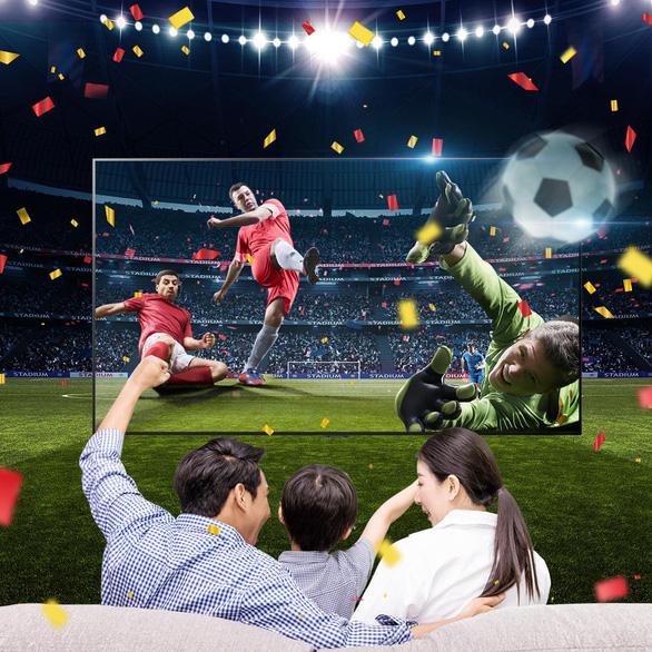 Những lưu ý chọn TV xem bóng đá để có trải nghiệm tốt nhất - Ảnh 2.