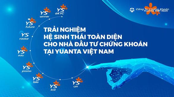Yuanta Việt Nam: Mở tài khoản chứng khoán, tặng đến 10 triệu phí giao dịch - Ảnh 2.
