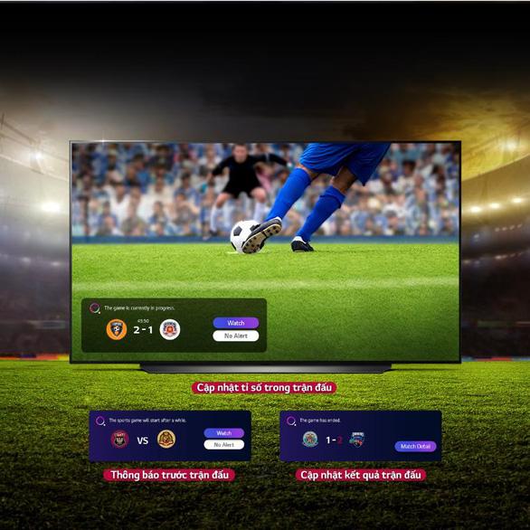 Những lưu ý chọn TV xem bóng đá để có trải nghiệm tốt nhất - Ảnh 3.