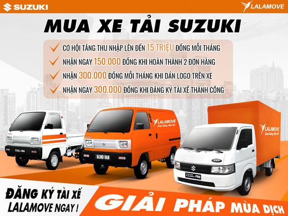 Suzuki hợp tác Lalamove mang nhiều lợi ích cho chủ xe tải nhẹ - Ảnh 4.