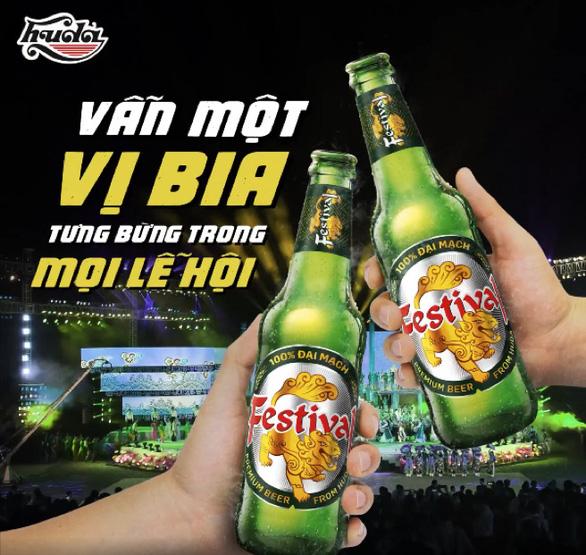 Bia Festival: mang lạc quan đến mọi gia đình - Ảnh 2.