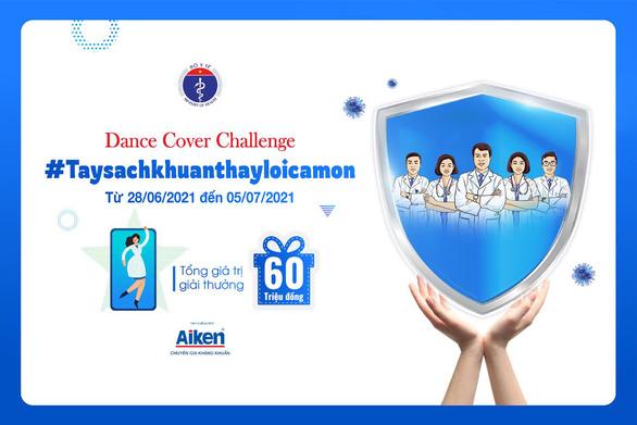 Cuộc thi dance cover khích lệ cộng đồng cùng tiền tuyến đẩy lùi đại dịch - Ảnh 1.