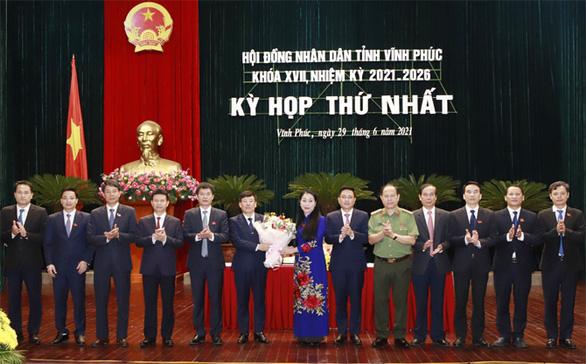 Bà Hoàng Thị Thúy Lan tái đắc cử chủ tịch HĐND tỉnh Vĩnh Phúc - Ảnh 1.