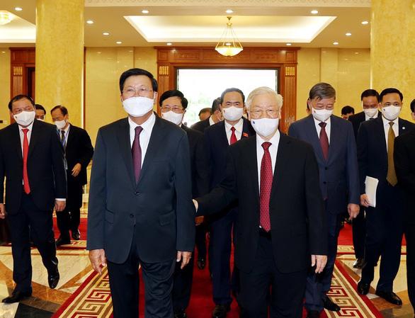 Vun đắp quan hệ đặc biệt Việt - Lào - Ảnh 1.