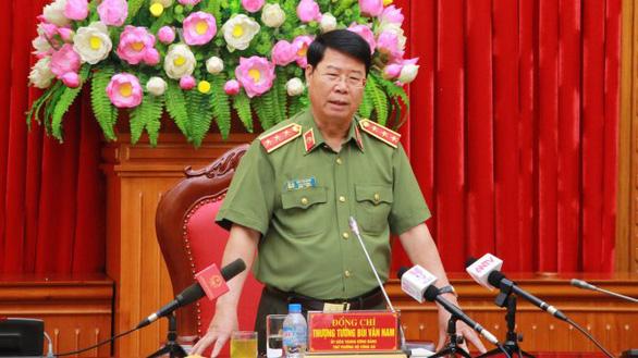 3 thượng tướng thôi chức thứ trưởng Bộ Công an từ ngày 1-6 - Ảnh 1.