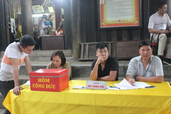 Giáo hội Phật giáo Quảng Ninh đề nghị Nhà nước không nên quản lý tiền công đức - Ảnh 1.