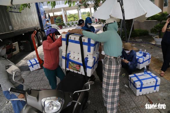 Người Đà Nẵng mua cả xe hơi vải thiều giúp nông dân Bắc Giang - Ảnh 4.