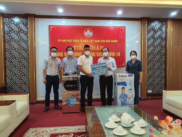 Tân Á Đại Thành ủng hộ Bắc Ninh, Bắc Giang chống dịch COVID-19 - Ảnh 2.