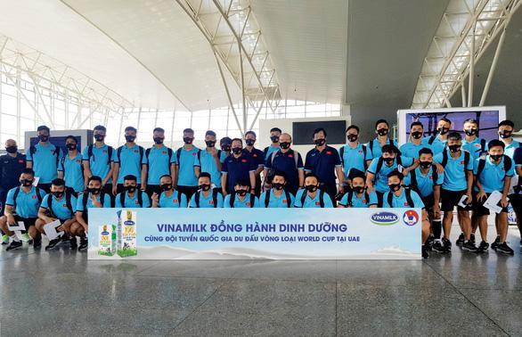 Vinamilk đồng hành cùng đội tuyển quốc gia tại vòng loại World Cup 2022 - Ảnh 4.