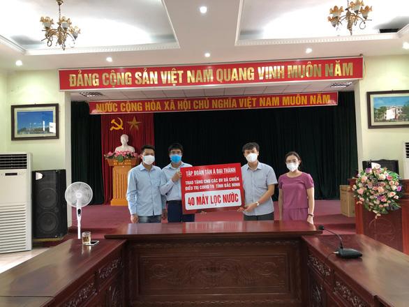 Tân Á Đại Thành ủng hộ Bắc Ninh, Bắc Giang chống dịch COVID-19 - Ảnh 3.
