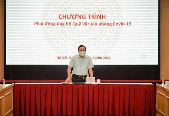Thêm 2.360 tỉ đồng cho Quỹ vắc xin phòng COVID-19 - Ảnh 1.