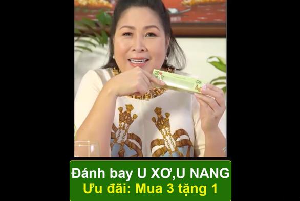 Nghệ sĩ Hồng Vân hối tiếc sâu sắc vì quảng cáo gây hiểu nhầm - Ảnh 1.