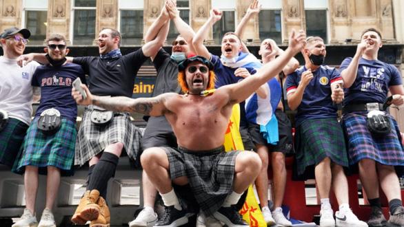 Dân đi xem Euro 2020, Scotland tăng gần 2.000 ca COVID-19 - Ảnh 1.