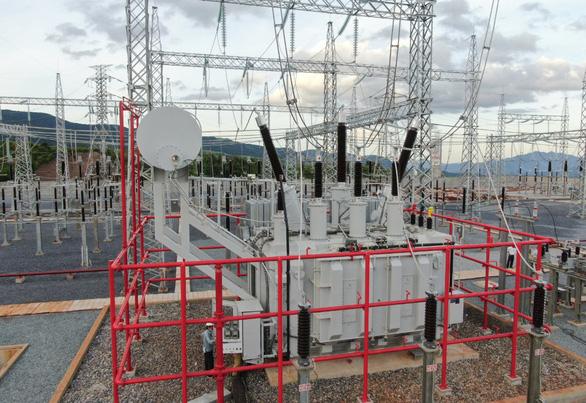 Hàng chục dự án điện gió Quảng Trị bớt nỗi lo 'tắc' truyền tải - Ảnh 1.
