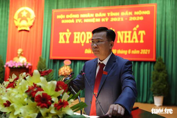 Ông Hồ Văn Mười được bầu làm chủ tịch tỉnh Đắk Nông - Ảnh 1.