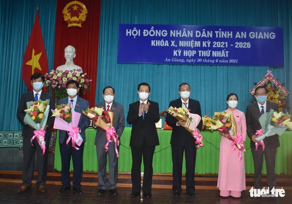 Ông Lê Văn Nưng làm chủ tịch HĐND tỉnh An Giang nhiệm kỳ 2021-2026 - Ảnh 1.