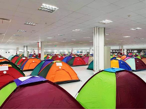 Mô hình phòng dịch sáng tạo: Làm việc và ăn ở tại chỗ - Ảnh 2.