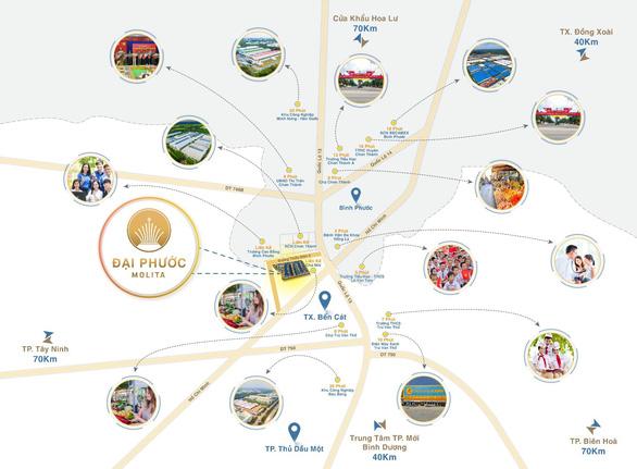 Đại Phước Molita - Điểm sáng đầu tư tại Bàu Bàng, Bình Dương - Ảnh 1.