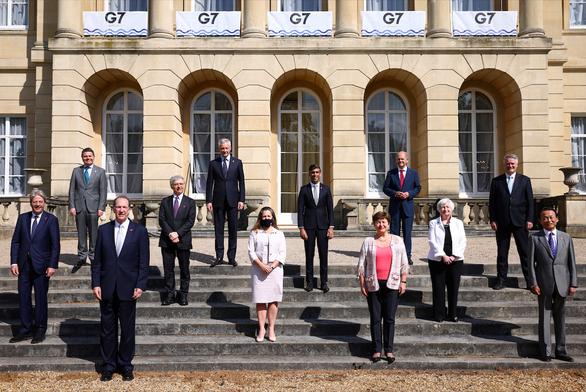 Các nước G7 đạt thỏa thuận lịch sử về thuế doanh nghiệp toàn cầu - Ảnh 1.
