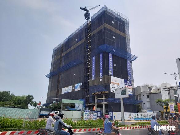 Đà Nẵng phạt 150 triệu đồng dự án sai phép ở trung tâm thành phố - Ảnh 1.