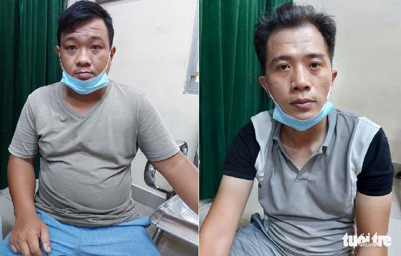 Cảnh sát đặc nhiệm bắt hai kẻ chuyên cướp giật ở TP.HCM - Ảnh 1.