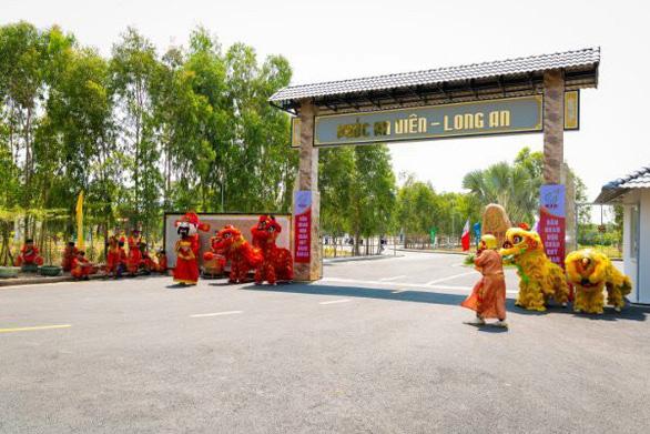 Phúc An Viên Long An - Nghĩa trang cao cấp mới giáp ranh TP.HCM - Ảnh 1.
