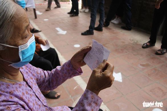 Cử tri Mê Linh bầu cử lại sau khi phát hiện nhiều sai phạm - Ảnh 3.