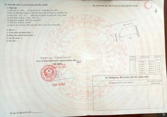 Cộng tác viên công ty địa ốc làm sổ đỏ giả lừa lấy 230 triệu đồng - Ảnh 2.