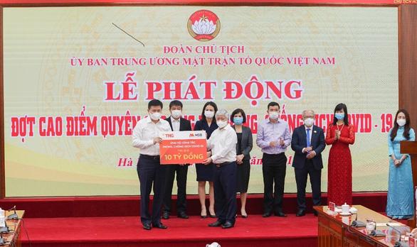 TNG Holdings Vietnam và MSB ủng hộ gần 50 tỉ đồng cho hoạt động phòng, chống COVID-19 - Ảnh 2.