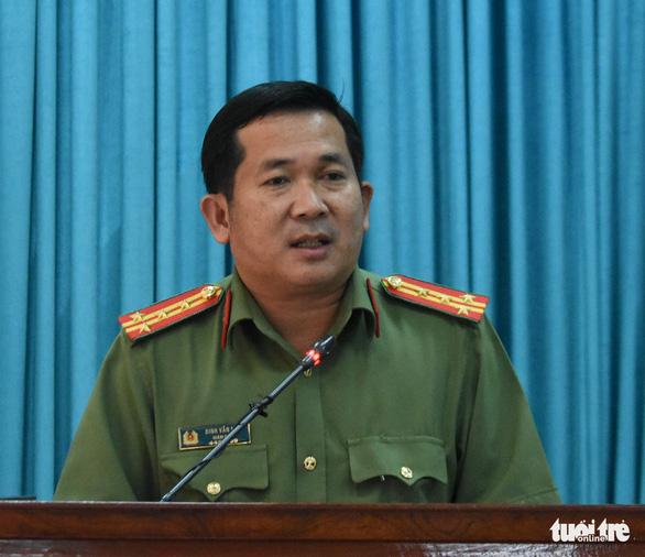 Đại tá Đinh Văn Nơi: Nếu có dấu hiệu cán bộ công an bảo kê, tiếp tay sẽ làm tới nơi tới chốn - Ảnh 3.