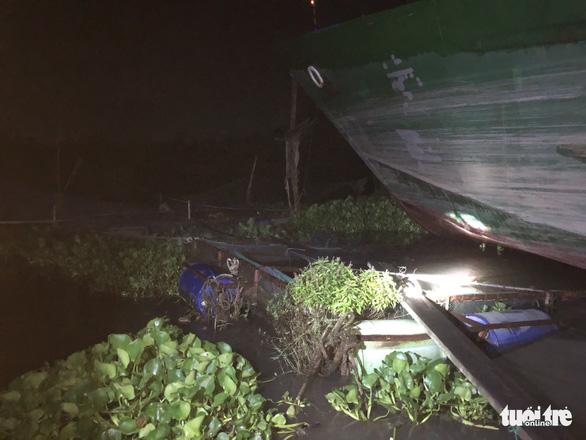 Sà lan tông chìm 2 bè cá chuẩn bị thu hoạch trên sông Tiền - Ảnh 4.