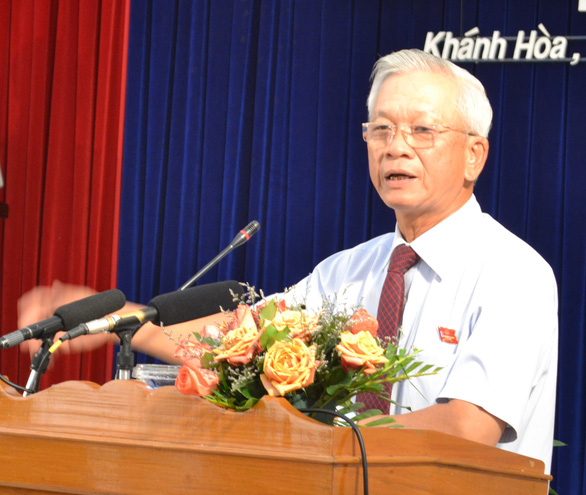 Bắt tạm giam 2 cựu chủ tịch UBND tỉnh Khánh Hòa Nguyễn Chiến Thắng, Lê Đức Vinh - Ảnh 2.