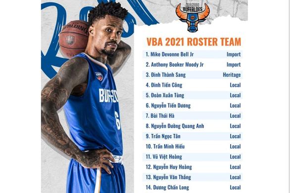 Hanoi Buffaloes trám điểm yếu chuẩn bị cho VBA 2021 - Ảnh 1.