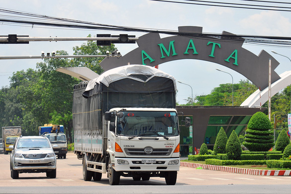 Công nhân Khu công nghiệp Amata tiếp xúc gần F0 tại TP.HCM, Biên Hòa họp khẩn - Ảnh 1.