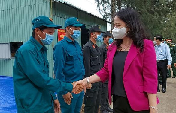 Phó chủ tịch nước Võ Thị Ánh Xuân đề nghị Kiên Giang giữ vững thành tích chống dịch - Ảnh 1.