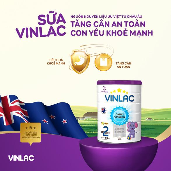 Vinlac - dinh dưỡng nội địa chất lượng quốc tế - Ảnh 1.