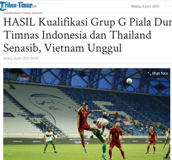 Báo chí Indonesia khen Việt Nam xuất sắc, chê tuyển nước nhà thảm bại - Ảnh 1.