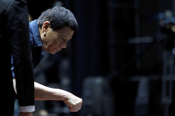Thấy làm tổng thống rất bạc bẽo nhưng ông Duterte không thấy ai xứng đáng thay thế tôi - Ảnh 1.