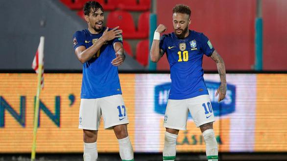Neymar tỏa sáng giúp Brazil thắng tuyệt đối ở vòng loại World Cup 2022 - Ảnh 1.